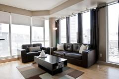 Toronto Furnished Rentals Furnished Livingroom