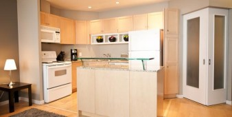 Furnished Apartment kitchen