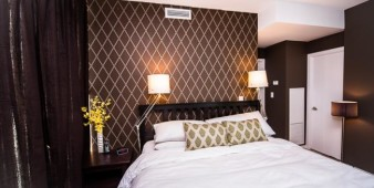 Extended stay bedroom